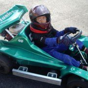 kart junior para nino color verde